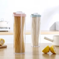 kitchenace grain dried fruit cereal noodle storageorganize bottle can sealed moisture proof food container kitchen accessories