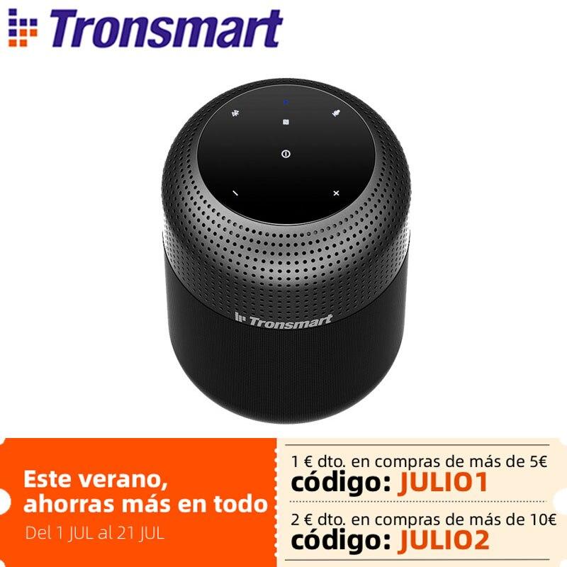 Tronsmart T6 Max سمّاعات بلوتوث 60 واط مسرح منزلي سماعات بلوتوث عمود مع مساعد صوت ، IPX5 ، NFC ، 20H وقت اللعب