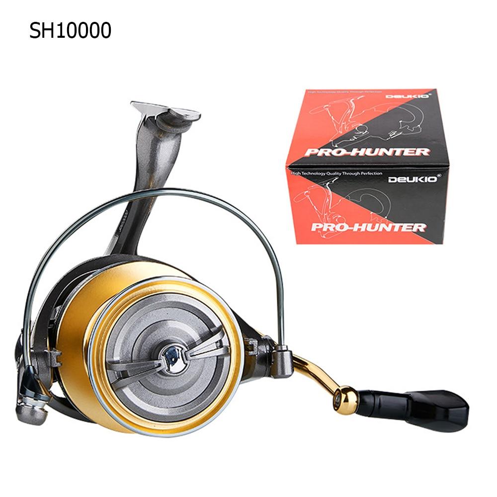 Spinning Fishing Reel Ultralight High Speed Powerful Fishing Reel Big Wire Cup Long Range Fishing Reel SH8000-12000 Series enlarge