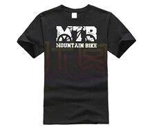 GILDAN Mountain Bike Vintage MTB diseño desgastado Camiseta de manga corta para hombre divertida camiseta cuello redondo algodón purificado ropa camiseta