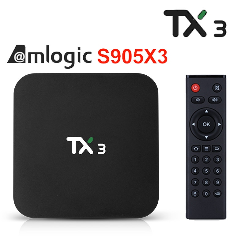 Neue TX3 Android 9,0 TV Box Amlogic S905X3 Quad Core 4GB 32GB 64GB Youtube Smart Media-Player 8k HD Set Top Box PK TX6 TX3 mini