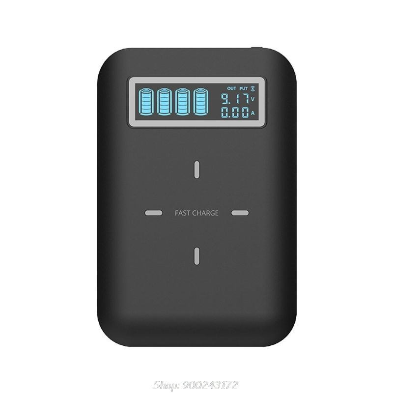 4X18650 Batterij Diy Qi Draadloze Oplader Usb Type C Pd Snel Opladen Power Bank Box Shell Case Voor mobiele Telefoon S24 20 Dropship