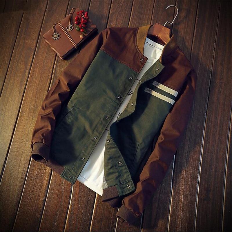 Брендовые мужские куртки, осенние мужские пальто, Модные приталенные куртки, мужская верхняя одежда, повседневные мужские куртки