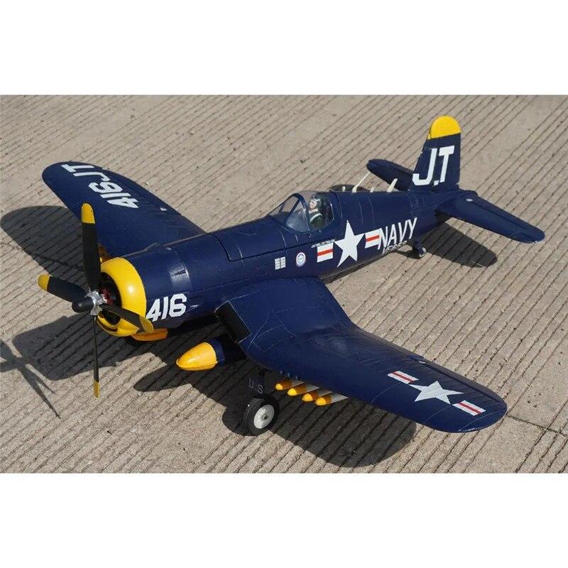KIT de avión de control remoto Hookll F4U Warbird 1200mm Wingspan EPO/PNP con tren de aterrizaje retráctil Avión RC juguetes al aire libre para niños