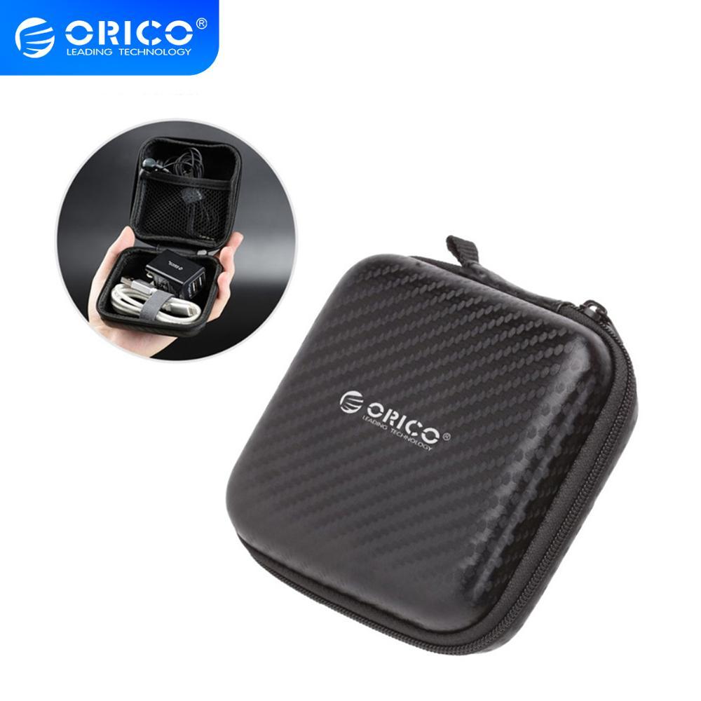 Аксессуары для наушников ORICO, переносная сумка для наушников, футляр для хранения, аксессуары для гарнитуры