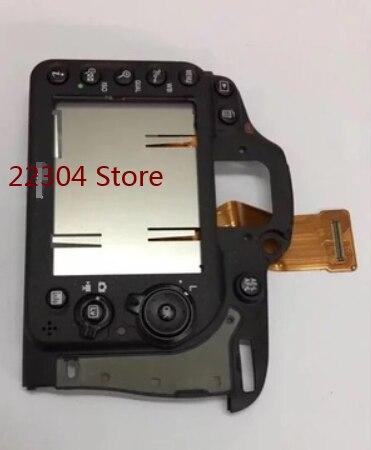 قطع غيار كاميرا نيكون D7200 ، غطاء خلفي Ass'y مع كابل زر مرن ، بدون شاشة LCD