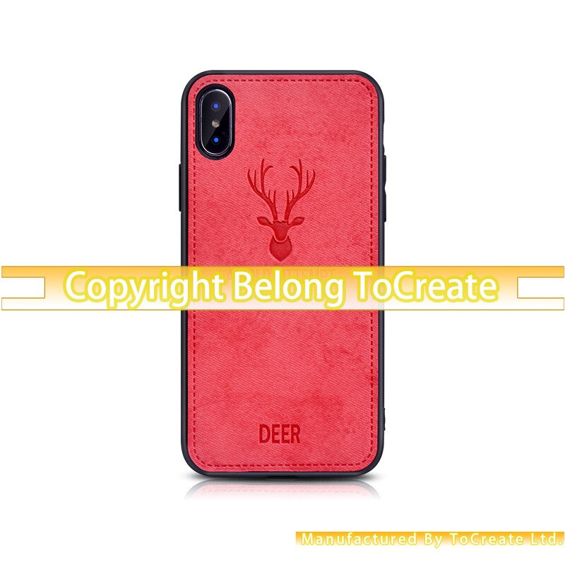 3d luxo bonito cervos dos desenhos animados caso telefone iphone11 caso móvel para iphone x xr xs 11 pro max 6 s 7 animal titular capa presente coque 20