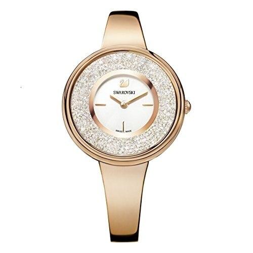 Swarovski orologo cristalino puro, tona ora rosa