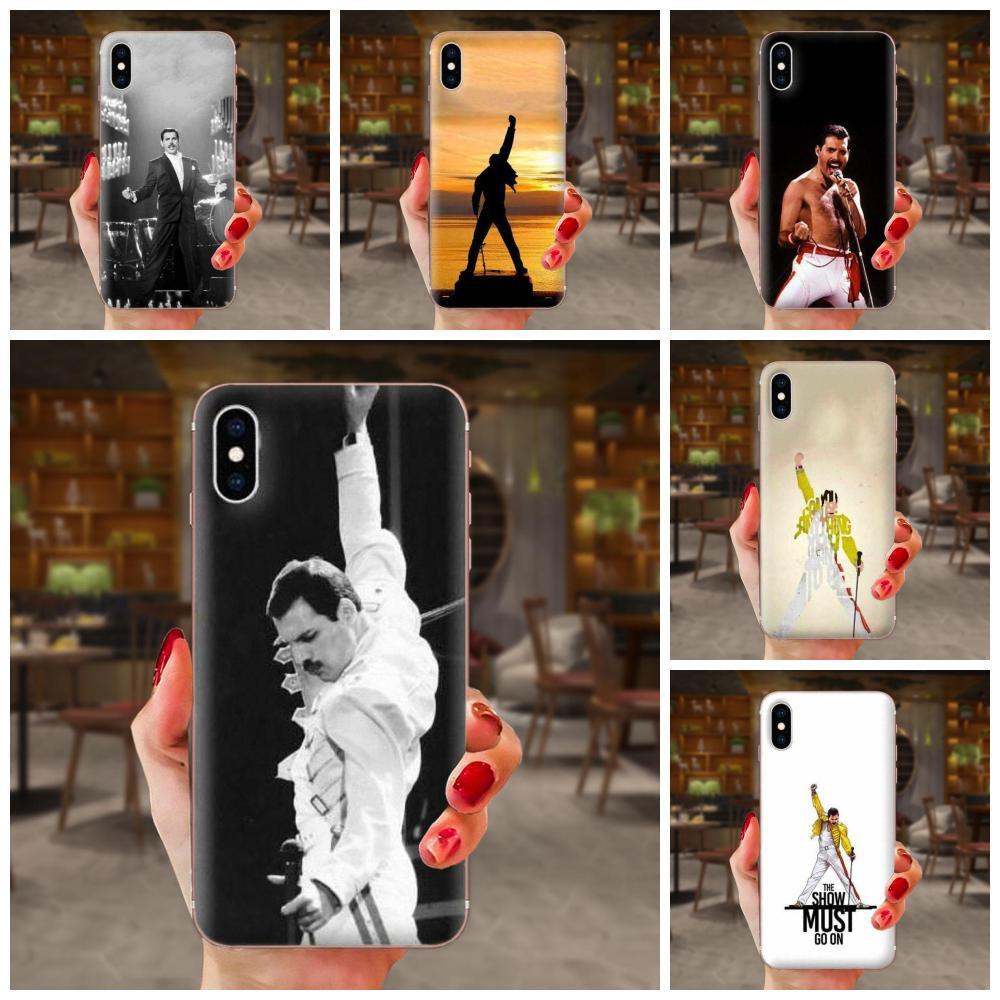 Para LG K50 Q6 Q7 Q8 Q60 X Power 2 3 Nexus 5 5X V10 V20 V30 V40 Q diseño suave del teléfono reina Freddie Mercury