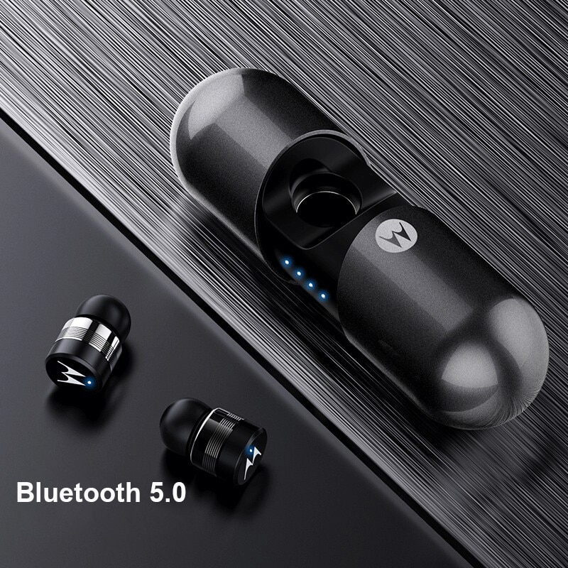 Motorola VerveBuds 400 Wireless Earphone with Bluetooth 5.0 IPX6 Waterproof Support Siri AI Assistant for Huawei Xiaomi enlarge