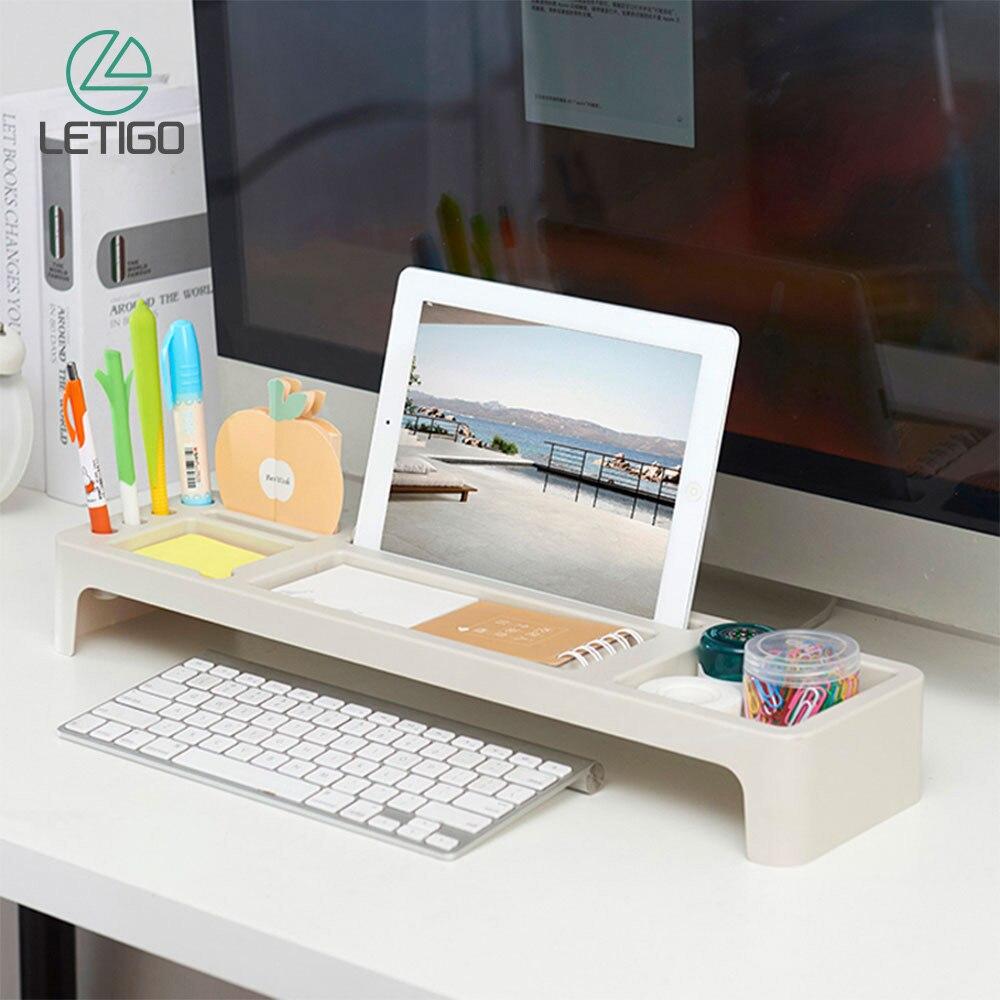 Prateleira de armazenamento de mesa rack de armazenamento de mesa de escritório organizador de mesa titular teclado gaveta rack caneta prateleira