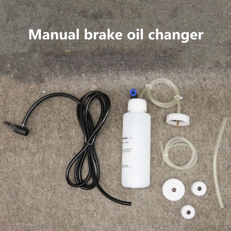 Car Brake Clutch Bleeder Kit Oil Pump Change Brake Liquid Filling Equipment Brake Oil Fluid Replacement Auto Vacuum Evacuation
