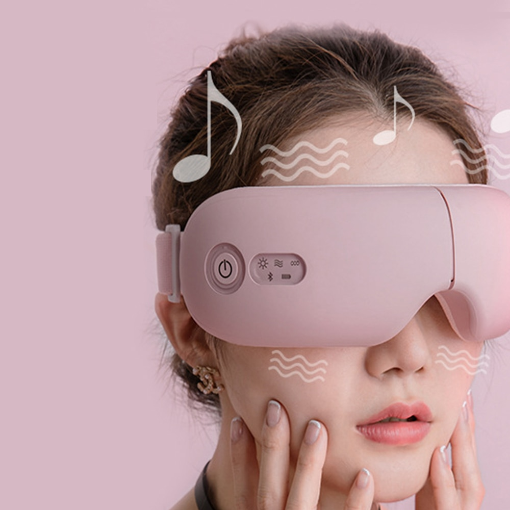 DIOZO العين مدلك الذكية الاهتزاز الساخن ضغط العين العناية أداة إزالة الظلام دائرة الموسيقى طوي تدليك العين