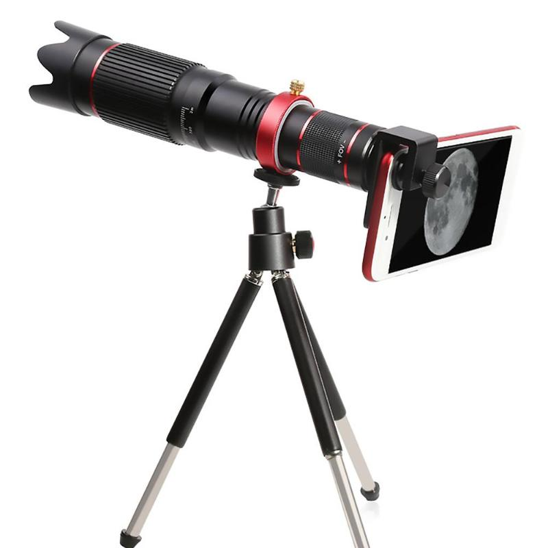 ALLOET 4K HD 36X Optical Telescope Zoom Phone Camera Lens Telephoto Lens For iPhone Xiaomi Smartphone Lenses lente para celular