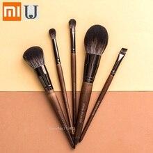 Xiaomi jordanjudy pinceau de maquillage poudre libre Blush brosse sourcil ombre à paupières brosse Imitation bois de santal brosse ensemble coupe Beau