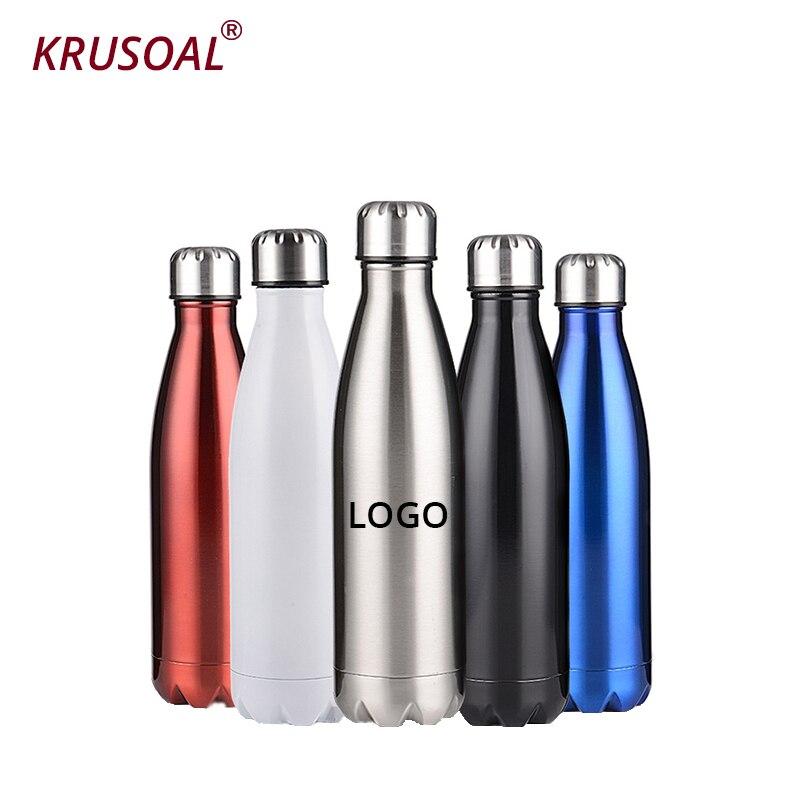 Térmica de Aço Inoxidável da Garrafa de Água da Cola da Cerveja da Água para a Garrafa do Esporte Garrafa para Esporte a do