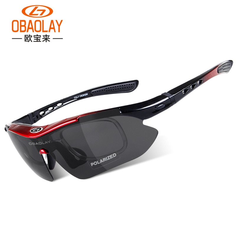 OBAOLAY Classic 0089 Cycling Glasses Cycling Glasses Shortsighted Windproof Riding Glasses Outdoor Goggles Glasses
