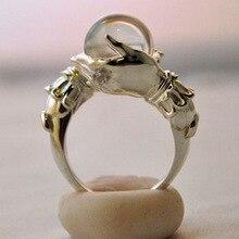 2020 nouveau Vintage élégant femelle anneaux boule de cristal gemmes doigt bague ensemble bohème charme fête bijoux cadeaux accessoires