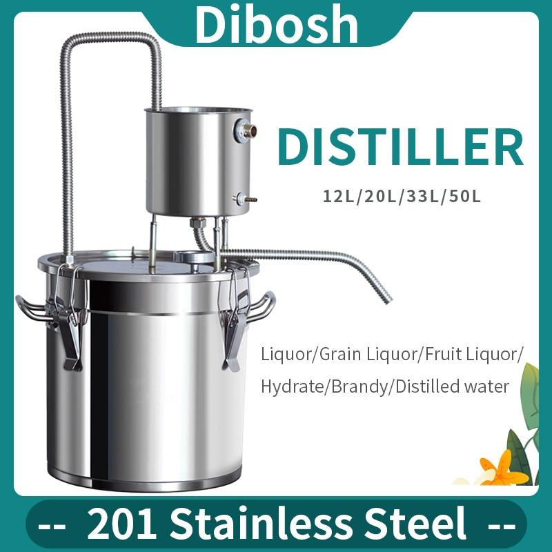 201 ze stali nierdzewnej nowy kubek wody destylator domowe warzelnictwo małe maszyny Moonshine hydrolate wino brandy wody destylowanej warzenia