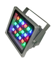 IP65 18W LED RGB floodlight RGB LED wall washer outdoor led spotlight led projector light led outdoor light 24V DC DS-TN-05-18W