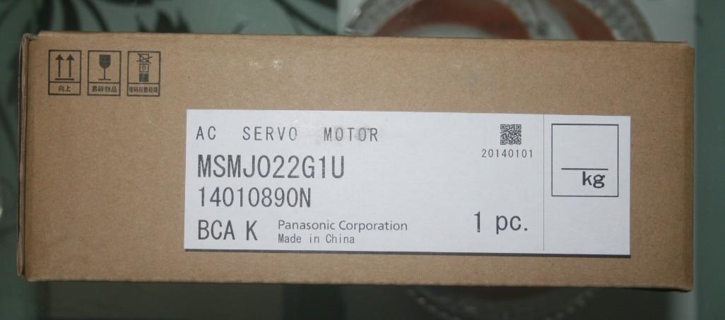 باناسونيك-محرك سيرفو أحادي ، سلسلة A5 II ، 200 واط ، جديد وأصلي ، MSMJ022G1U