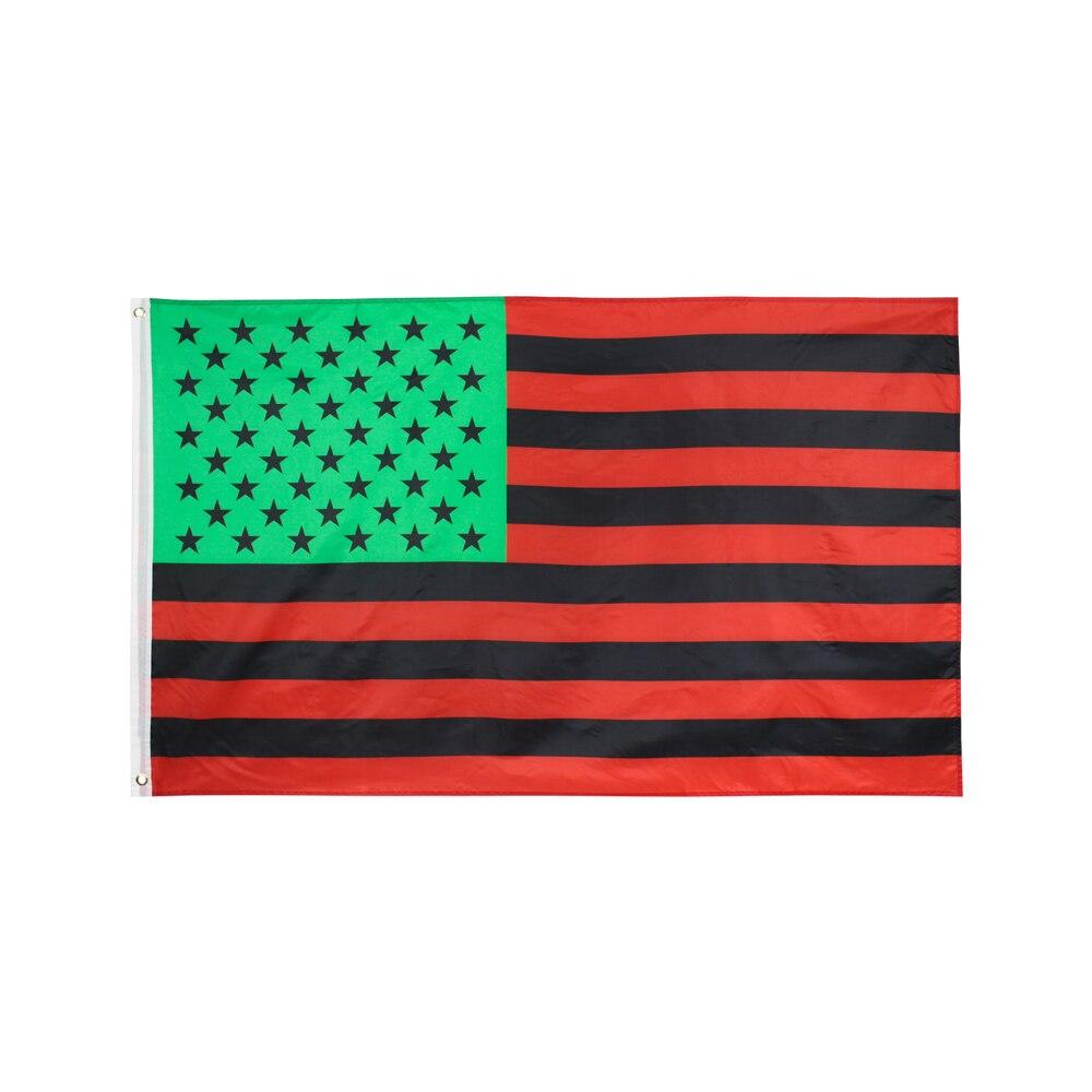 90x150 см афро-американский флаг