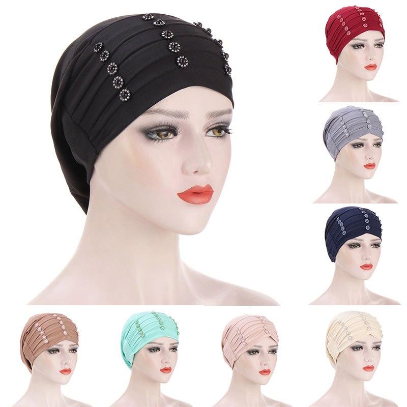 Тюрбан, головной убор, ночная Кепка, перезаряжаемый головной убор, мусульманская шляпа, головной платок, головной убор, головной убор для сн... gcds головной убор