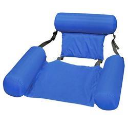 Sofá de ar inflável dormir nadar saco mobiliário ao ar livre bonito chique piscina água dobrável flutuante linha encosto colchões ar