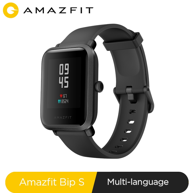 In stock Amazfit Bip S Global Version Smartwatch 5ATM GPS GLONASS Bluetooth Smart Watch for android
