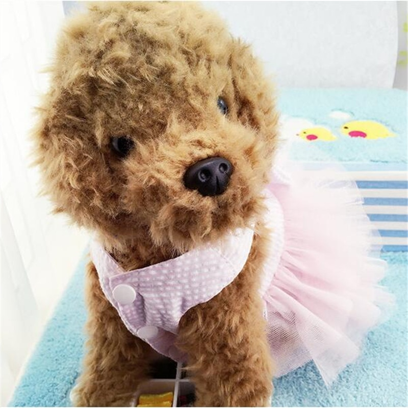 Summer Cat Dog Dress Clothes Skirt Dogs Princess Wedding Dresses Puppy york Yorkie Poodle Bichon Maltese Dog Cats Clothing  - buy with discount