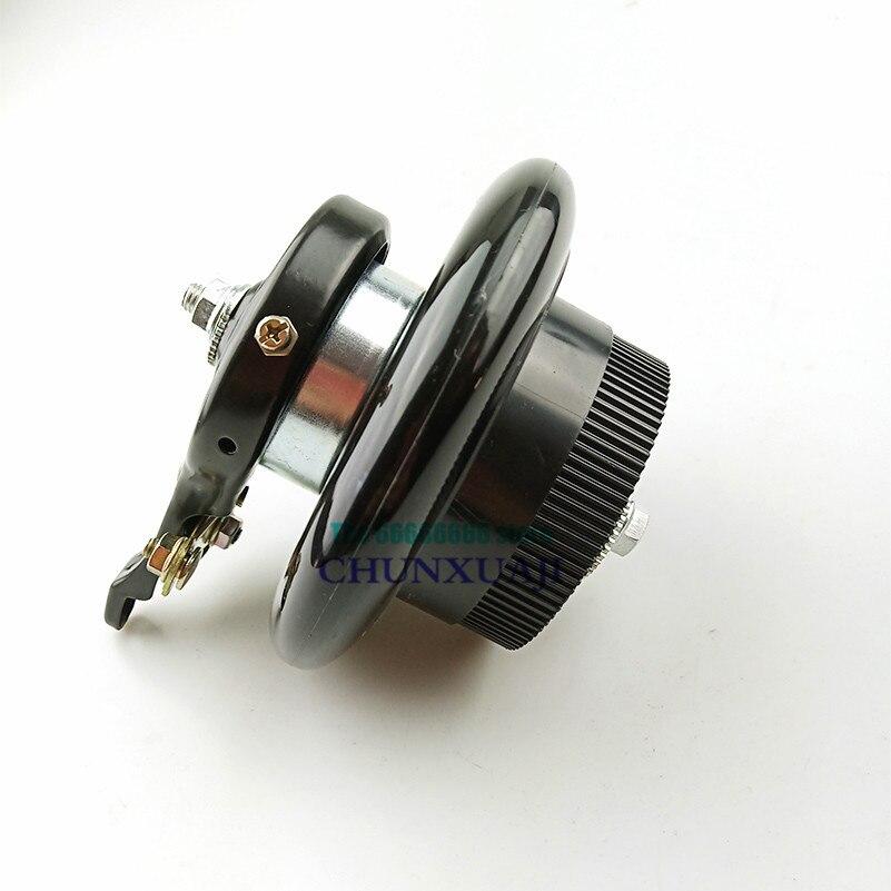 Roue arrière solide dunité centrale de 6 pouces 140mm avec le kit de frein à tambour pour les petites roues électriques de scooters de surf roues de roulette de 6 pouces
