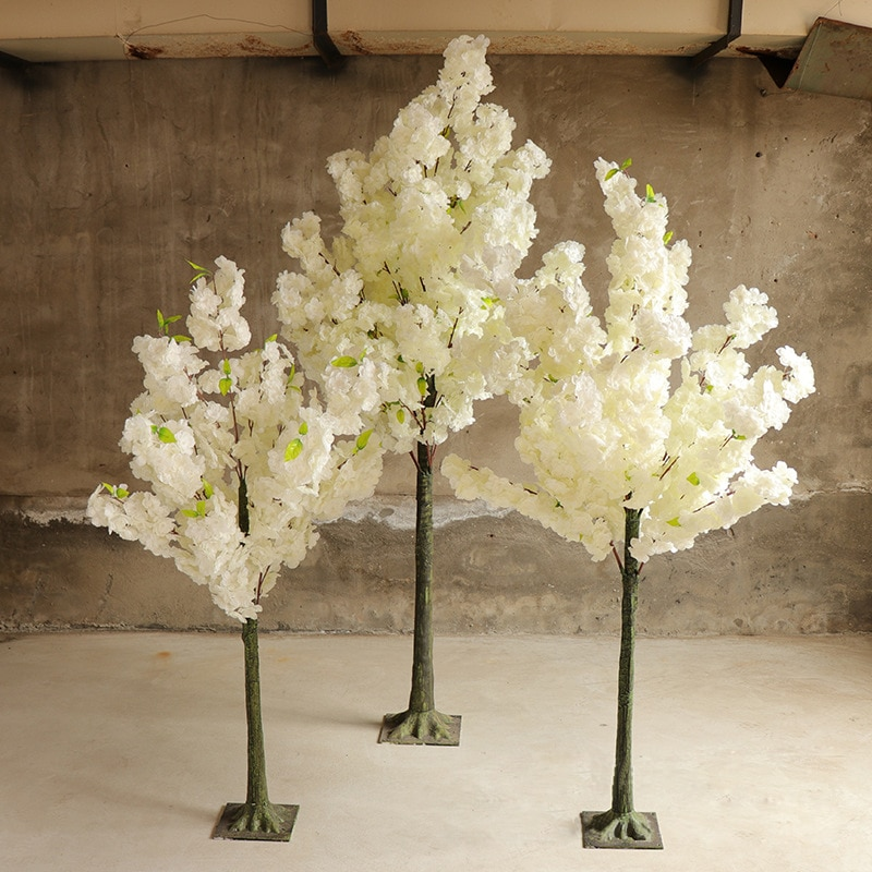 Artificial Cherry Tree Artificial Peach Tree Christmas Tree Stage Outdoor Garden Hotel Wedding Home Decoration Cherry Tree