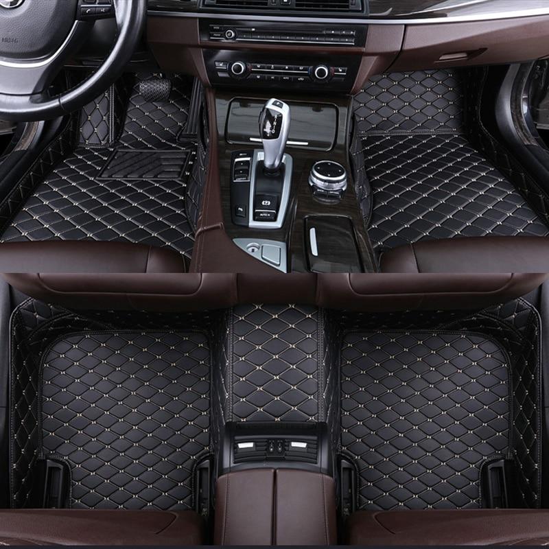 Alfombrilla personalizada de 5 asientos para coche, alfombrilla para bmw Serie 3,...