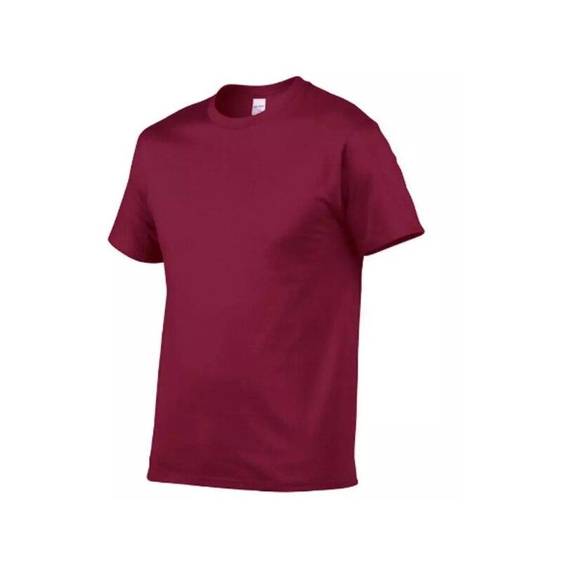 Camiseta De algodón seré Para Hombre... 100% Blanco Y Negro Summer Talla...