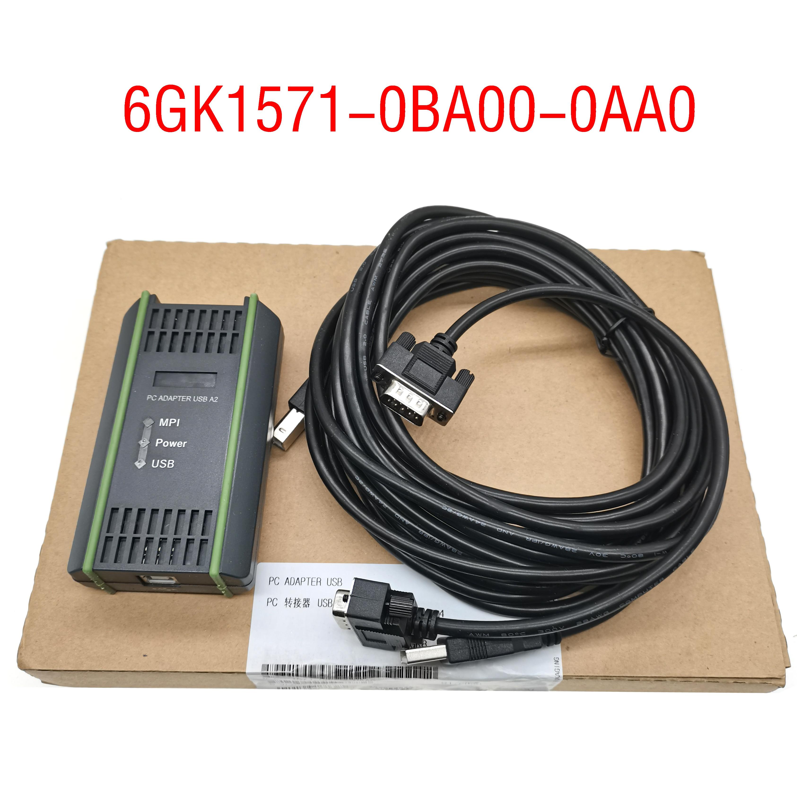 Envío gratuito S7-300 MPI cabo 6GK1 571-0BA00-0AA0 6GK1571-0BA00-0AA0 ADAPTADOR USB PC A2...