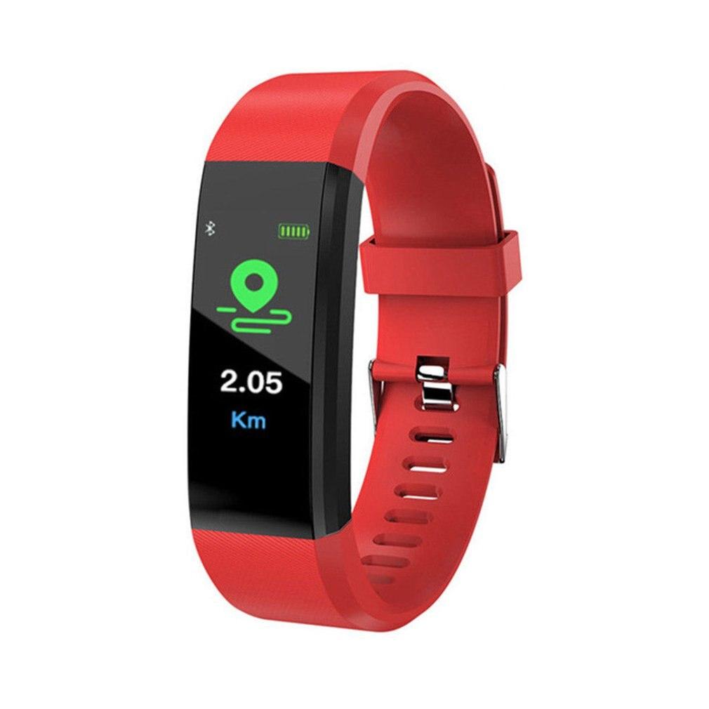 Global Version Bluetooth Smart Watch Sport Health Waterproof Fitness Activity Tracker Wrist Band Bracelet