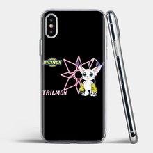 kawaii cartoon digimon Gatomon Soft Silicone TPU Case For iPhone 11 Pro 4 4S 5 5S SE 5C 6 6S 7 8 X XR XS Plus Max For iPod Touch
