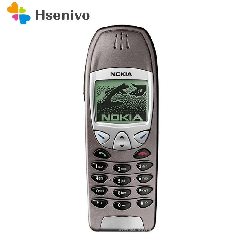 Nokia 6210 refurbished-Original Unlocked Nokia 6210 Mobile Cell Phone 2G GSM 900/1800 Unlocked Cellphone Free shipping