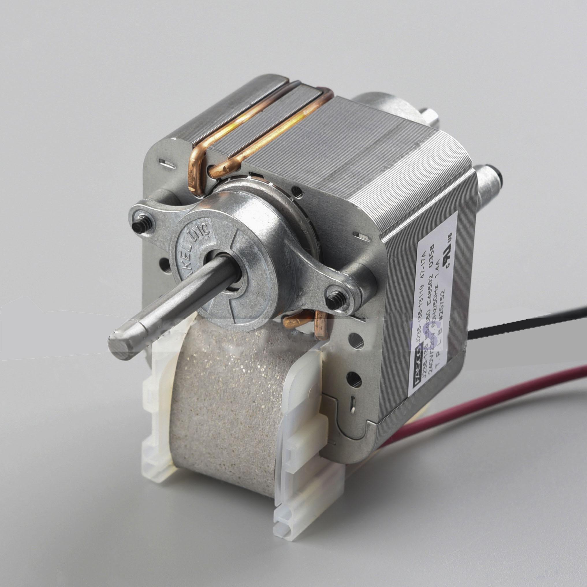 De Metal de congelador vertical refrigerador Frige Motor de ventilador de evaporador de plata 240V 1pc
