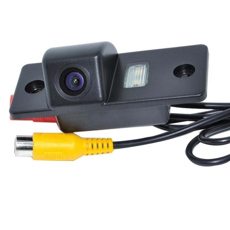 Car Reversing Rear View Camera For Volkswagen Skoda Jing Rui / Santana / POLO (3C) / Tiguan / T ouareg / Passat WF