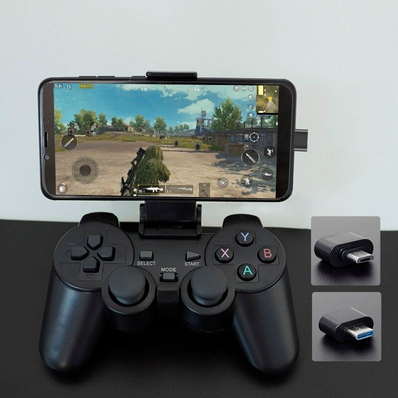 Mando inalámbrico para teléfono Android/PC/PS3/TV Box, Joystick 2,4G, Mando de juego Joypad para Xiaomi y teléfono inteligente
