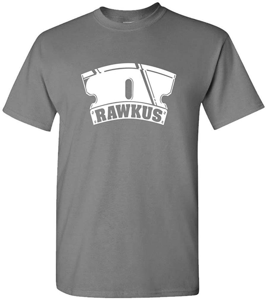 Rawkus discos Hip Hop Rap música Thug camiseta hombres mujeres Unisex hombres mujeres Tops camiseta