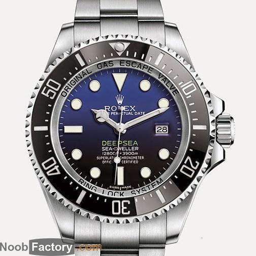 Rolex-- r 2021 TOP QUALITY Luxury brand 1166810 44mm automatic asian 2836 men's watch sapphire dive