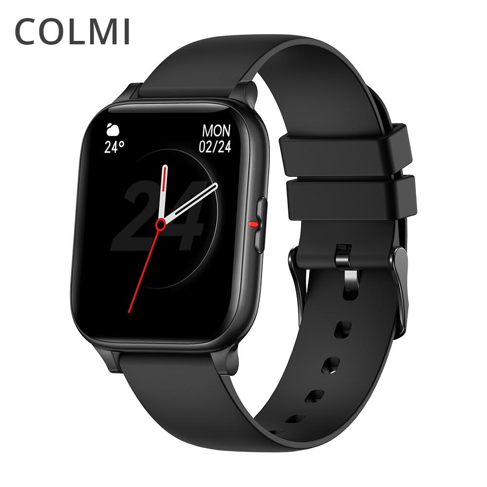 COLMI P8 Mix 1.69 Inch Smart Watch Men Heart Rate Monitor IP67 Waterproof Women Smartwatch Fitness Tracker for iPhone Plus