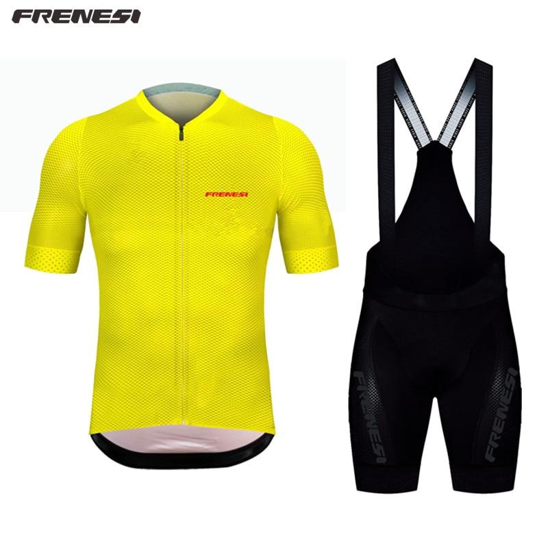 Frenesi bike pro team verano Boutique conjuntos de manga corta Jersey ciclismo Euro deporte ciclismo carrera ciclismo ropa de ciclismo