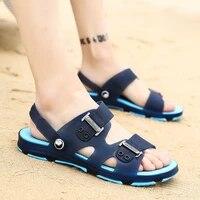 2021 new men sandals summer flip flops slippers men outdoor beach casual shoes cheap mens sandals sandalia masculina tux441