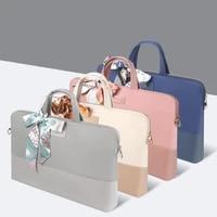 shockproof women laptop bag 14 inch macbook pro 15 laptop cover for macbook air 13 waterproof shoulder bag briefcase 15 6 inch