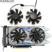 2 PCS/lot 75MM GA82O2M GTX750 GTX750Ti ventilateur refroidisseur pour GALAXY KFA2 GeForce GTX 750 750Ti ventilateur de carte vidéo graphique