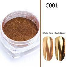 0.5g Nail Art Mirror Glitter Powder UV Gel Polishing Manicure Decorations Tool
