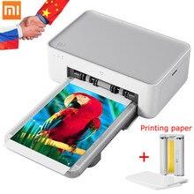 Xiaomi Mijia Mi Foto Drucker 6-inch High-Definition Auto Film Multi-größe ID Fotos Smart Drucker drahtlose Telefon Foto Drucker
